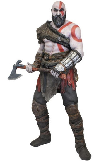 NECA God of War Life Size Kratos 6 Foot Foam Replica [2018]