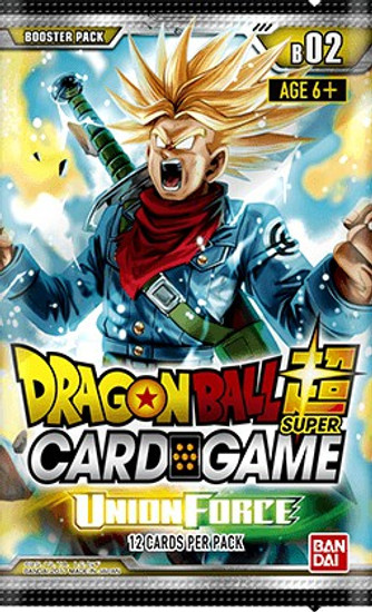 Dragon Ball Super Trading Card Game Series 2 Union Force Booster Pack DBS-B02 [12 Cards]