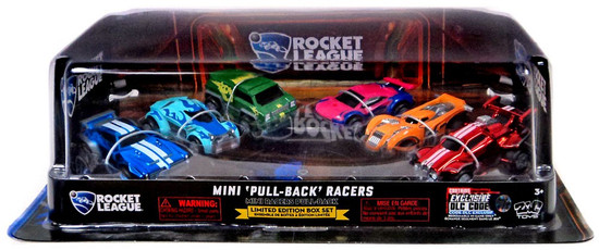 Rocket League Exclusive Pull Back Racers 6-Pack