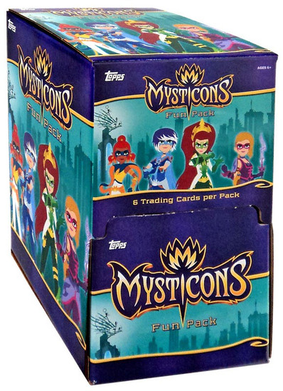Topps Mysticons Gravity Feed Box [36 Packs]