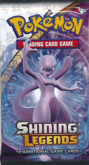 Pokemon Trading Card Game Sun & Moon Shining Legends Booster Pack [10 Cards]