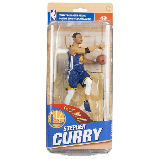 McFarlane Toys NBA Golden State Warriors Sports Picks Series 32 Stephen Curry Action Figure [Blue Uniform]
