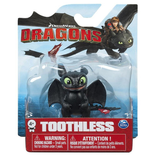 How to Train Your Dragon Mini Dragons Toothless 3-Inch Mini Figure