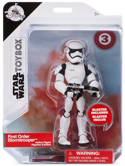 Disney Star Wars The Last Jedi Toybox First Order Stormtrooper Exclusive Action Figure