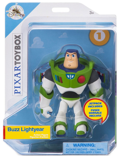 Disney Toy Story Toybox Buzz Lightyear Exclusive Action Figure [Jetpack]