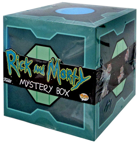 Funko Rick & Morty Exclusive Deluxe Mystery Box [Young Rick Pop!]