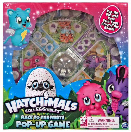 Hatchimals Colleggtibles Race to the Nest Pop-Up Game