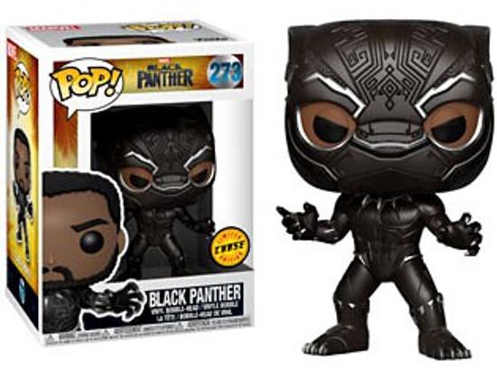 Funko Marvel Universe POP! Marvel Black Panther Vinyl Figure #273 [Masked, Chase Version]