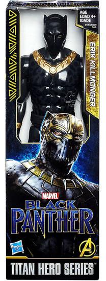 Marvel Black Panther Titan Hero Series Erik Killmonger Action Figure