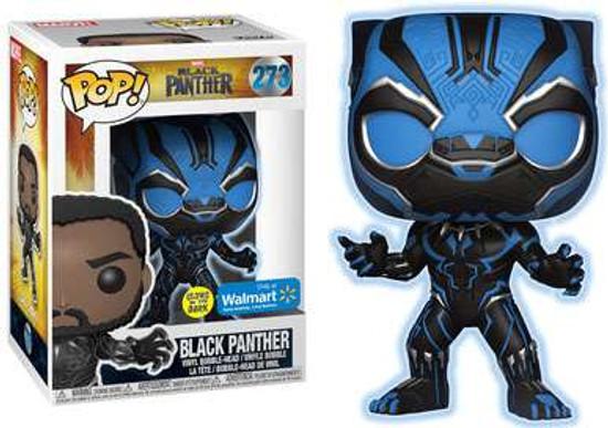 Funko Marvel Universe POP! Marvel Black Panther Exclusive Vinyl Figure #273 [Glow in the Dark]