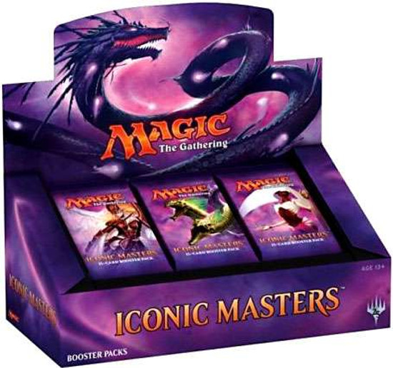 MtG Trading Card Game Iconic Masters Booster Box [24 Packs]