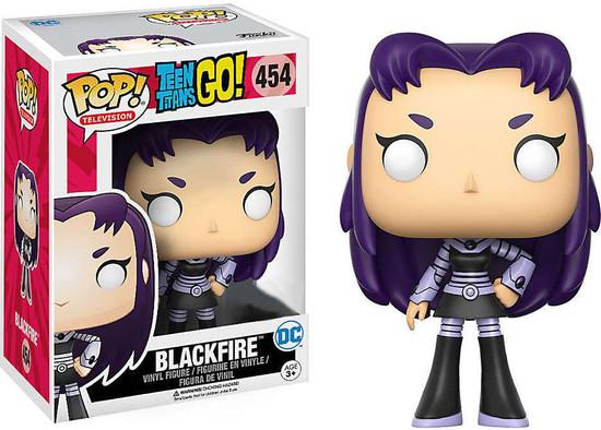 Funko Teen Titans Go! POP! TV Blackfire Exclusive Vinyl Figure #454 [Loose]