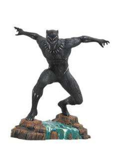 Marvel Gallery Black Panther 9-Inch PVC Figure Statue [Movie Version, masked]