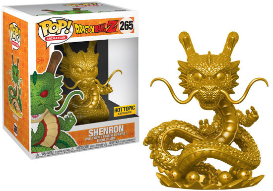 Funko Dragon Ball Z POP! Animation Shenron Exclusive 6-Inch Vinyl Figure #265 [Golden, Super-Sized]