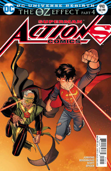 DC Action Comics #990 Comic Book [Lenticular Cover]