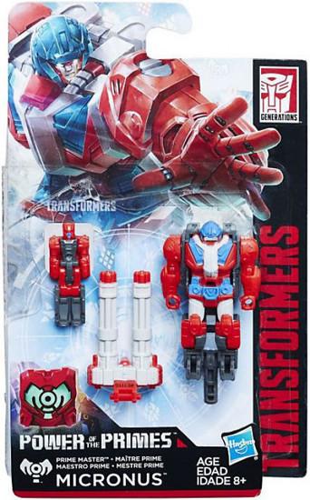 Transformers Generations Power of the Primes Micronus / Cloudburst Master Action Figure