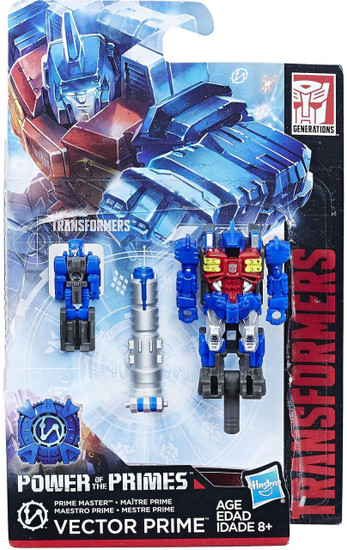 Transformers Generations Power of the Primes Vector Prime / Metalhawk Master Action Figure