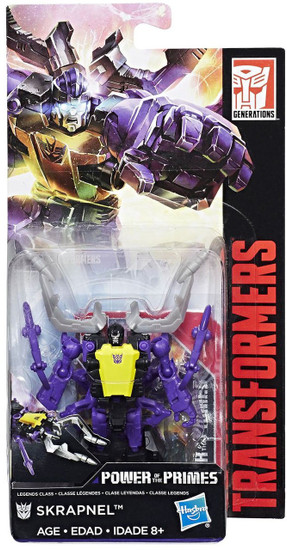 Transformers Generations Power of the Primes Insecticon Skrapnel Legend Action Figure