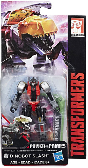 Transformers Generations Power of the Primes Dinobot Slash Legend Action Figure