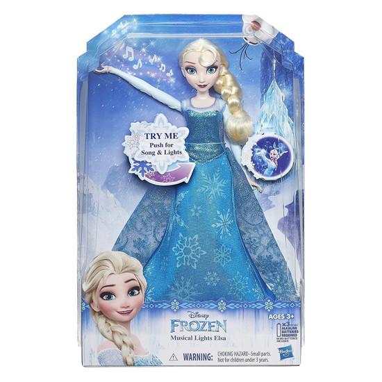 Disney Frozen Musical Lights Elsa Doll