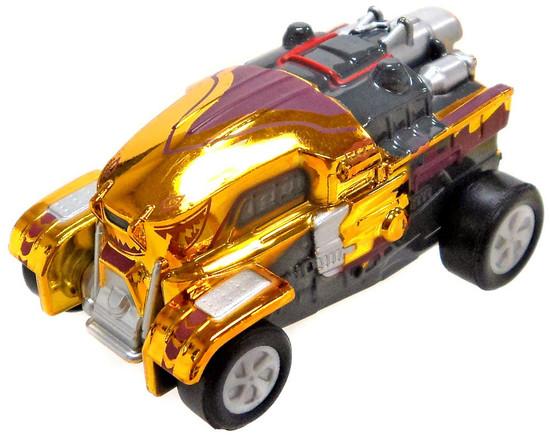 Rocket League Grog Exclusive Pull Back Racer [Metallic Yellow Loose]