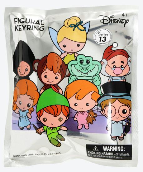 3D Figural Keyring Disney Series 13 Peter Pan Mystery Pack [1 RANDOM Figure]