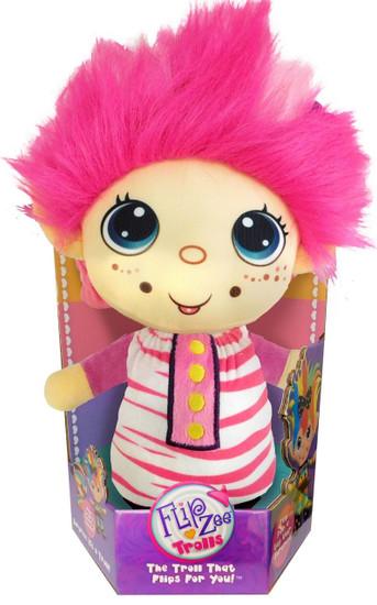 FlipZee! Trolls Pretty in Pink Plush Doll