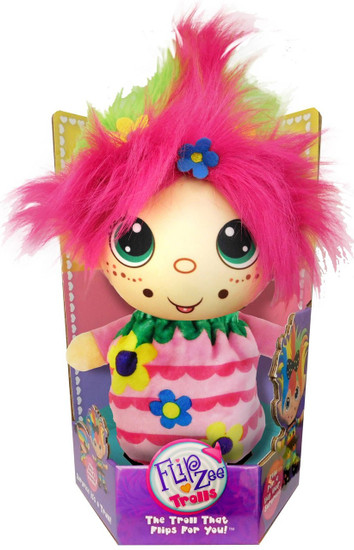 FlipZee! Trolls Flower Power Plush Doll