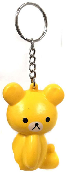 Nom!Nom!Nom! Squizzy Kawaii Squishies Yellow Bear Keychain