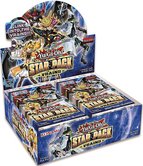 YuGiOh Trading Card Game Star Pack VRAINS Booster Box [50 Packs]