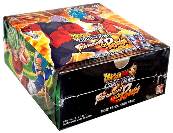 Dragon Ball Super Collectible Card Game Theme Booster 1 The Tournament of Power The Tournament of Power Booster Box DBS-TB01 [24 Packs]