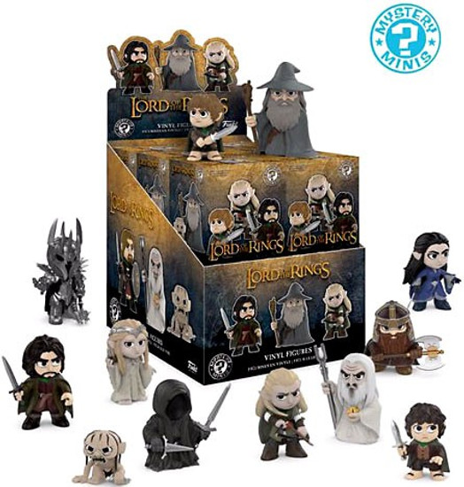 Funko Mystery Minis Lord of the Rings Mystery Box [12 Packs]