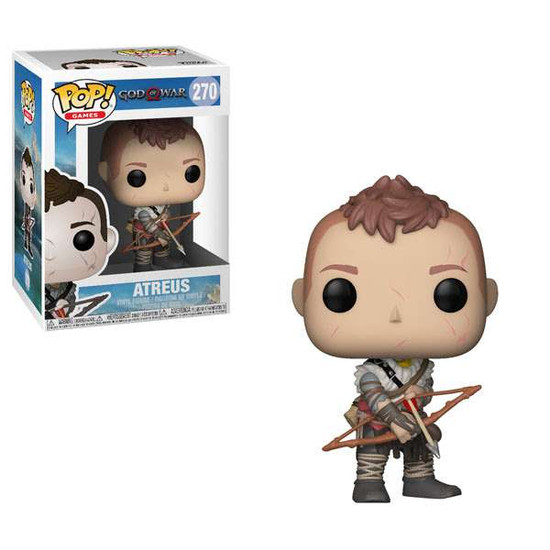 Funko God of War POP! Games Atreus Vinyl Figure #270