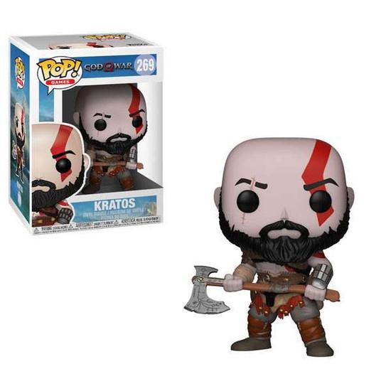 Funko God of War POP! Games Kratos with Axe Vinyl Figure #269