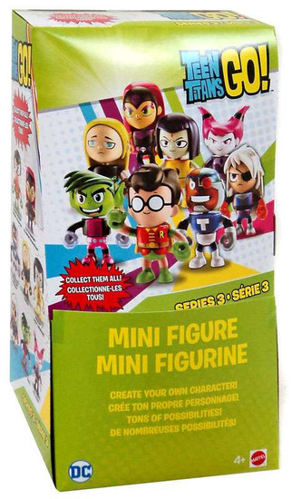 Teen Titans Go! Series 3 Teen Titans Mystery Box [36 Packs]