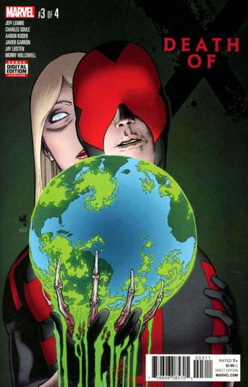 Marvel Comics Death of X #3 Comic Book [Aaron Kuder]