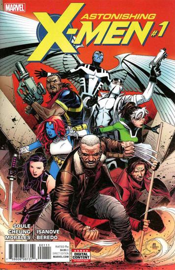 Marvel Comics Vol. 4 Astonishing X-Men #1 Comic Book [Jim Cheung]