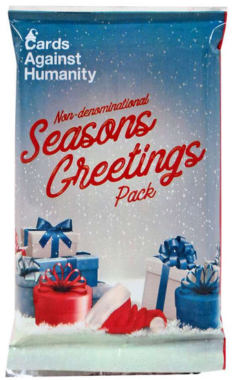 Cards Against Humanity Non-Denominational Seasons Greetings Pack Card Game Expansion