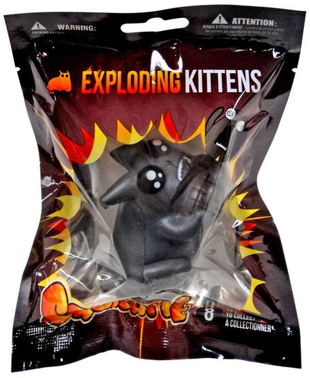 Exploding Kittens SquishMe Grenade Kitten Squeeze Toy