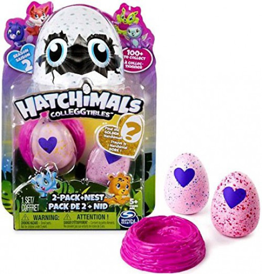 Hatchimals Colleggtibles Season 2 Mystery 2-Pack + Nest