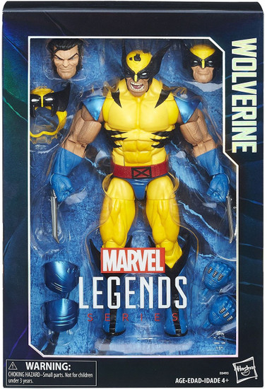 Marvel Legends Wolverine Deluxe Collector Action Figure