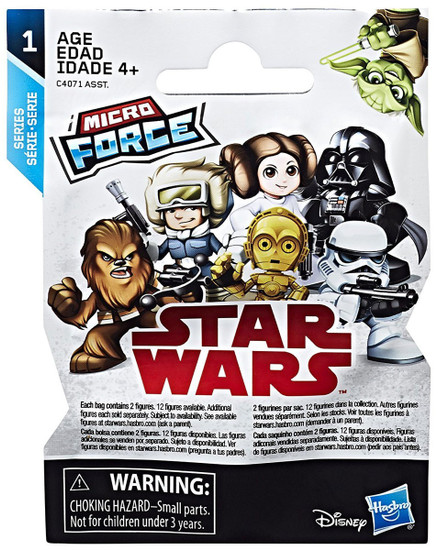 Star Wars Micro Force Series 1 Mystery Pack