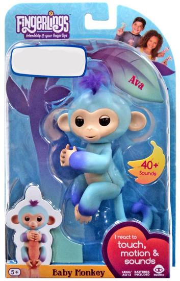 Fingerlings Baby Monkey Ava Exclusive Figure