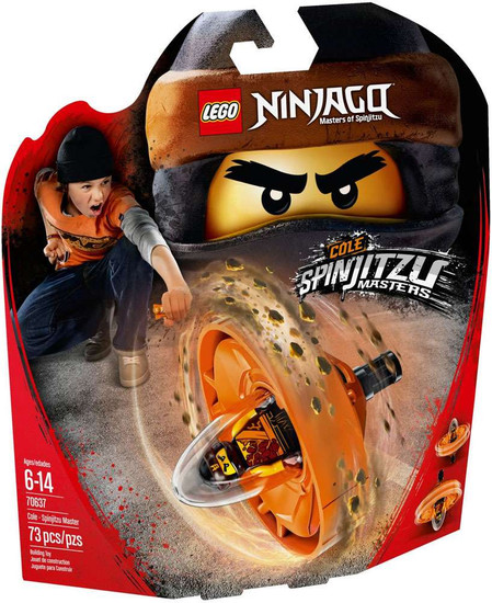 LEGO Ninjago Cole - Spinjitzu Master Set #70637