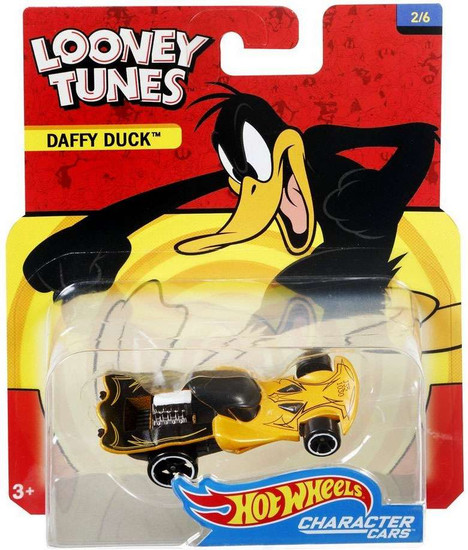 Hot Wheels Looney Tunes Character Cars Daffy Duck Diecast Car #2/6