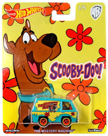 Hot Wheels Scooby Doo The Mystery Machine Die-Cast Car #1/5