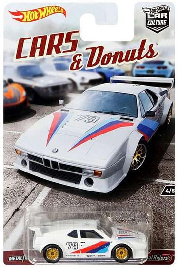 Hot Wheels Car Culture Cars & Donuts BMW M1 Procar Diecast Car #4/5