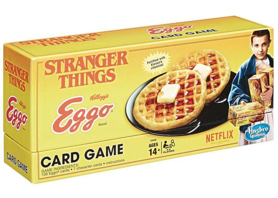 Stranger Things Kellogg's Eggo Card Game