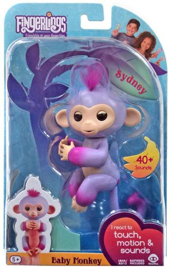 Fingerlings Baby Monkey Sydney Figure