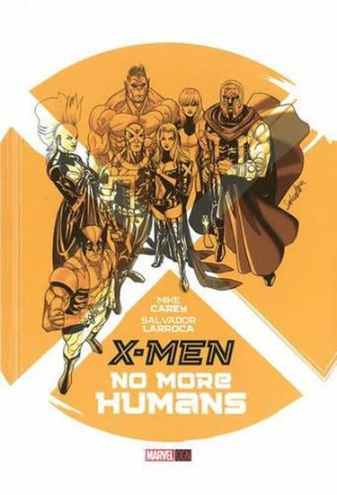 X-Men: No More Humans Original Graphic Novels Hardcover Comic Book
